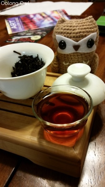 The Tea Spot Connoisseur Collection - Oolong Owl Tea Review (6)
