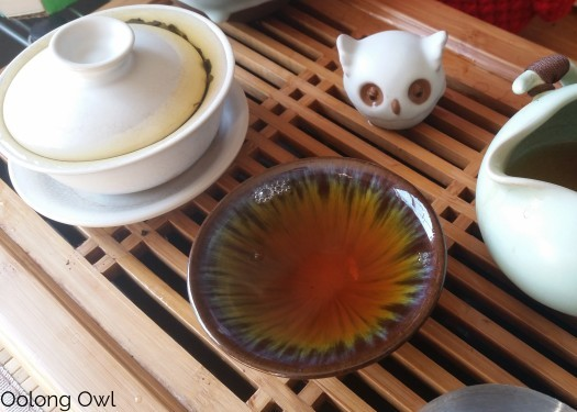 2013 Da Hong Pao Blocks - bana tea company - oolong owl (10)