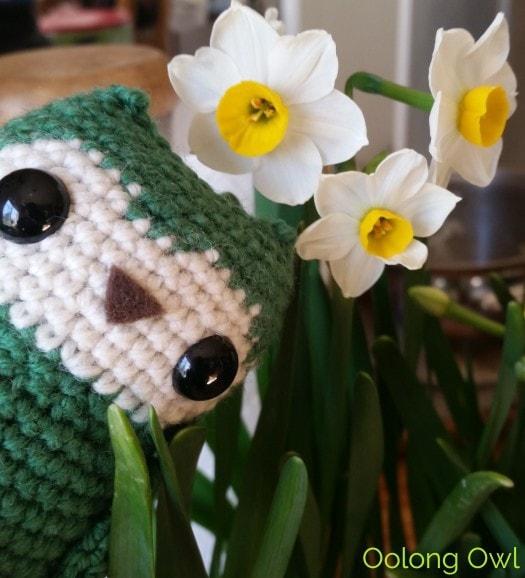 Sunday Tea hoots 13 - tea table flowers (2)