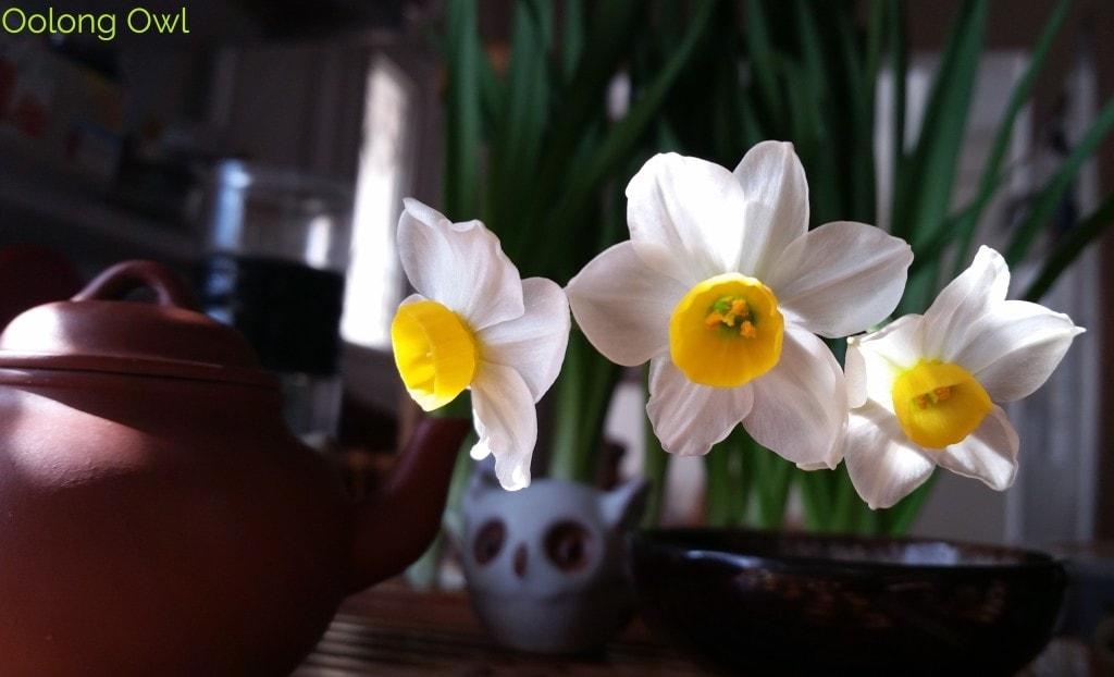 Sunday Tea hoots 13 - tea table flowers (4)
