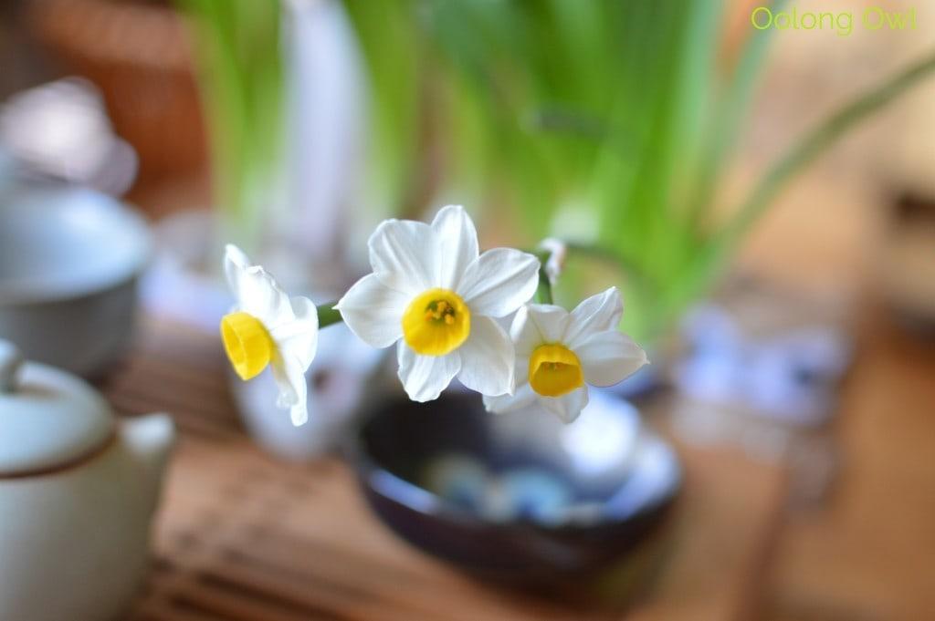 Sunday Tea hoots 13 - tea table flowers (6)