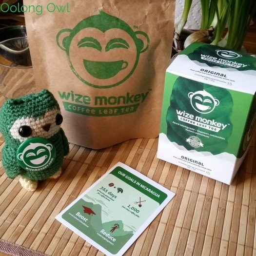 Wize Monkey Coffee Leaf Tea - mango mint - oolong owl (11)