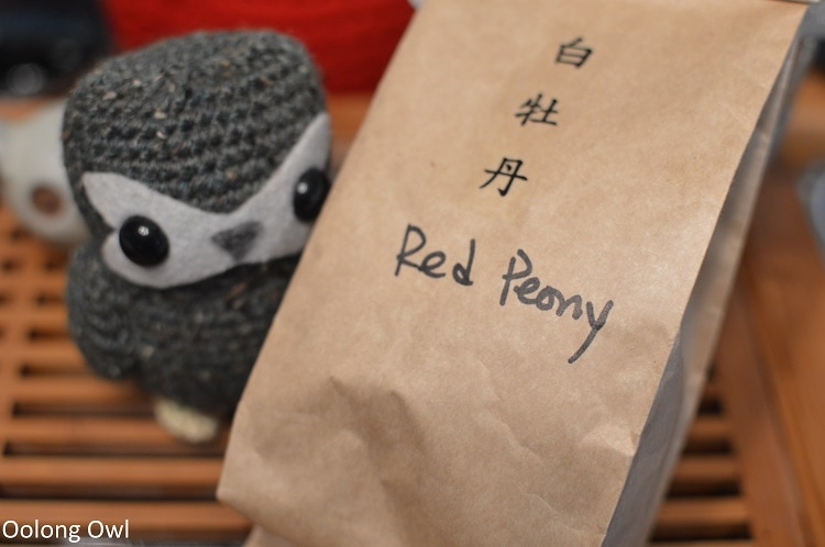 Red Peony - Floating Leaves Tea - Oolong owl (1)