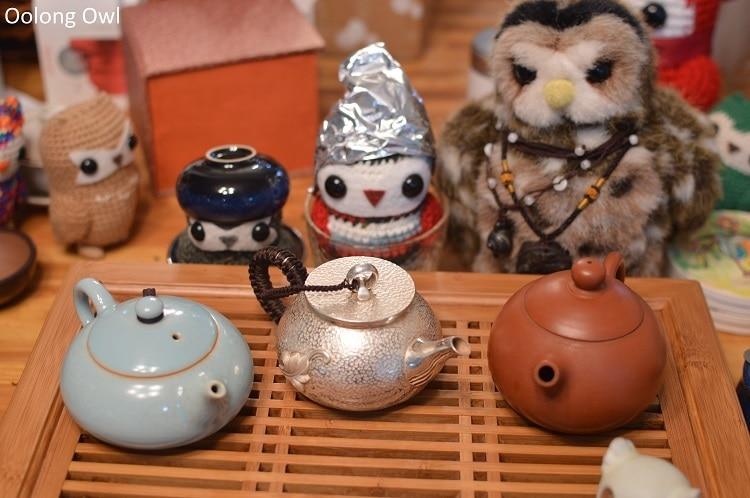 Silver teapot - Oolong Owl (10)