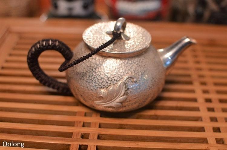 Silver teapot - Oolong Owl (8)