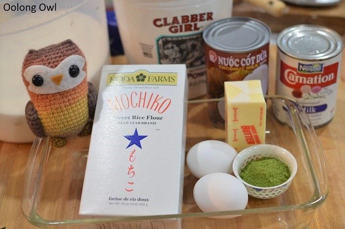 Matcha butter mochi - Oolong Owl (1)