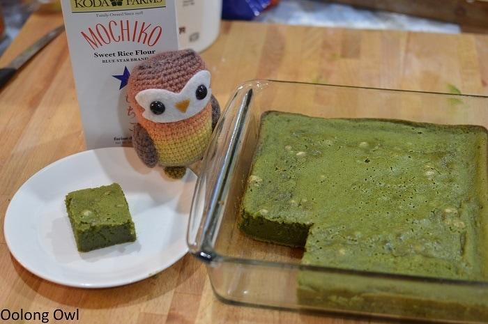 Matcha butter mochi - Oolong Owl (6)