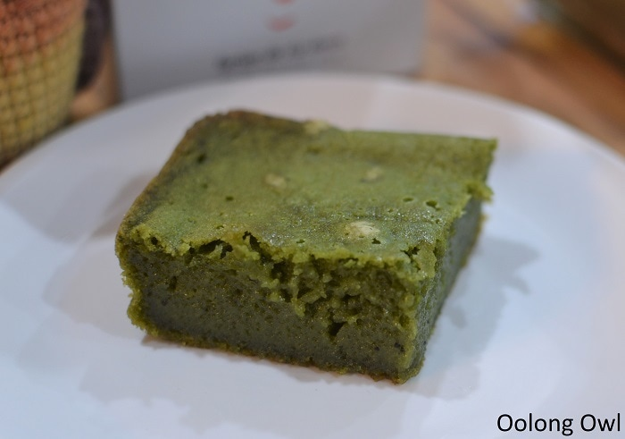Matcha butter mochi recipe - oolong owl
