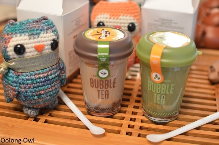 etude house bubble tea sleeping pack - oolong owl (3)