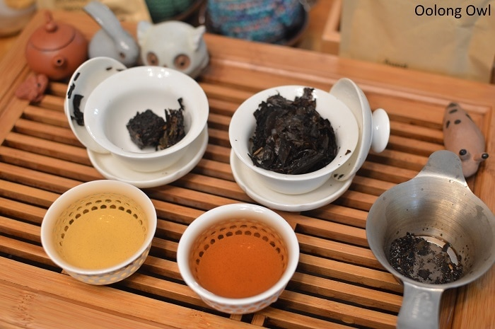 march 2017 white2tea club heicha qingbing oolong owl (6)
