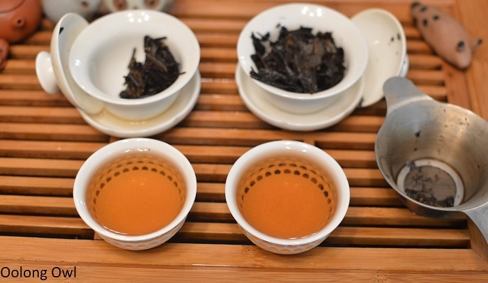 march 2017 white2tea club heicha qingbing oolong owl (7)