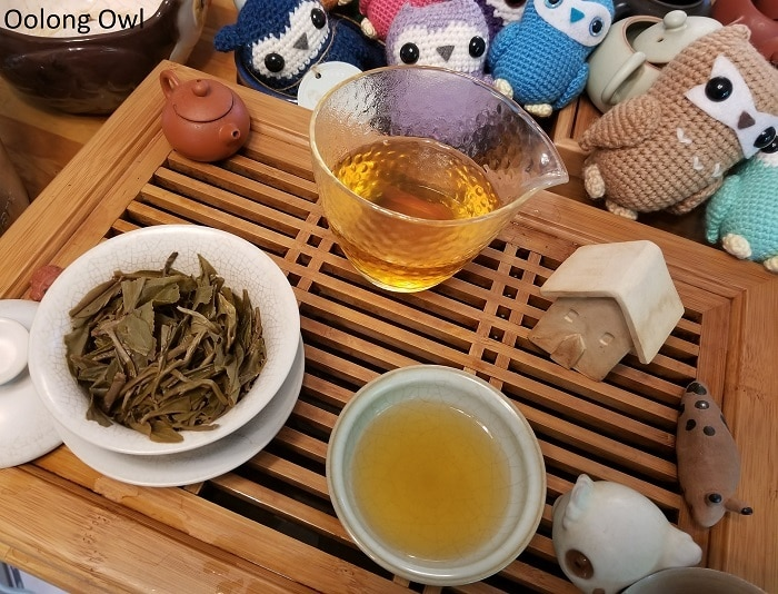 Shang tea white puer cake - Oolong Owl (7)