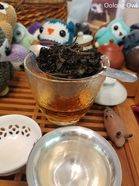 charcoal roast dong ding 3 roast - floating leaves tea - oolong owl (13)