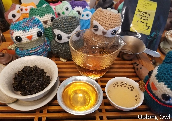 charcoal roast dong ding 3 roast - floating leaves tea - oolong owl (4)